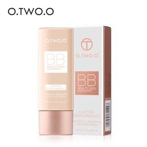 O.TWO.O Makeup BB Cream White Cosmetics Natural Whitening Cream Waterproof Makeup Base Liquid Foundation Professional Cosmetics