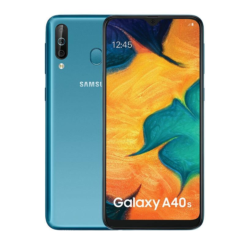 Купить Samsung Galaxy A40s мобильный телефон 6 ГБ ОЗУ 64 Гб ПЗУ 6,4 дюймов 4G LTE Android мобильный телефон 5000 мАч смартфон на Алиэкспресс