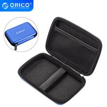 ORICO 2.5 inch HDD SSD Portable Hard Drive Protector Bag HDD Storage EVA Hard Case for USB Cable Card Reader Pouch