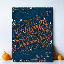 Современное украшение для дома счастливый день благодарения