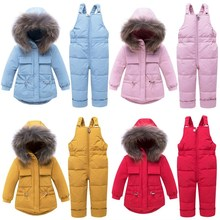 Orangemom 2019 Winter Coat Brand Hood With Jacket For Girls Clothes, Thicken Infant Girl Snowsuit Baby Boy Outerwear