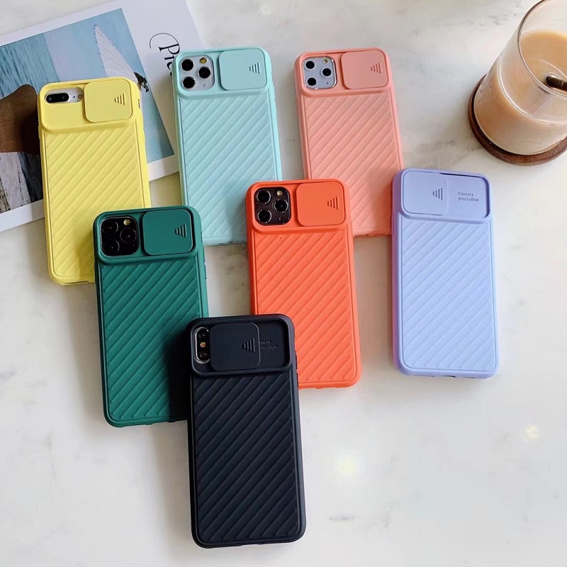 Popular Style TPU Soft Matte Smooth Hand Feeling Pure Color Camera Protection Phone Case For iphone 678/Plus XR XS MAX 11ProMax 1