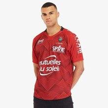 Toulon /20 Домашняя футболка для регби, размер S-3XL-5XL, принт на заказ с именами и цифрами, высокое качество