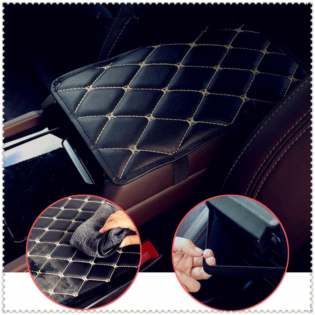 مسند ذراع للسيارات حصيرة السيارات مساند ذراع الحصير غطاء الوسادة الوسادة ل Volkswagen vw Touran 1.4 فوكس 1.2 Touareg2 GolfA5 GT MK7 جولف 7