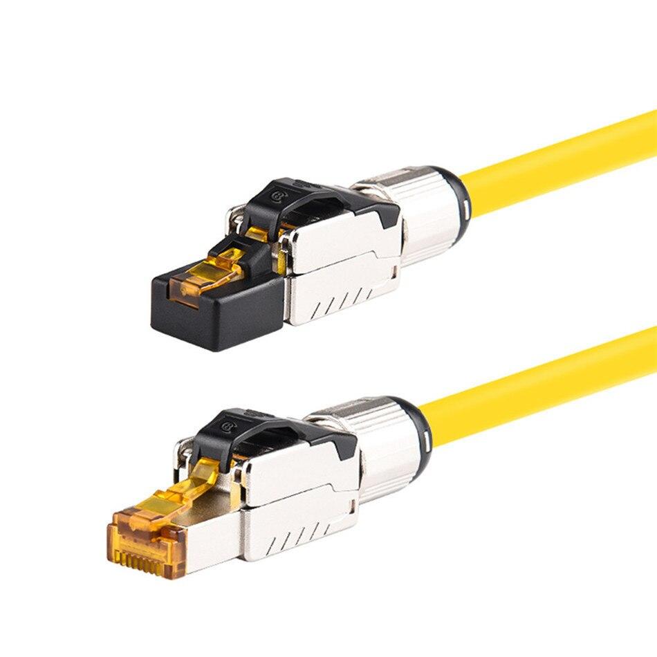 Cat8 Cat7 Cat6A Ethernet Cables RJ 45 Lan Cable Cat 8 7 6A Networking Patch Cord 0.5M 1M 1.5M 2M 3M 4M 5M 7M 8M 10M 12M 15M