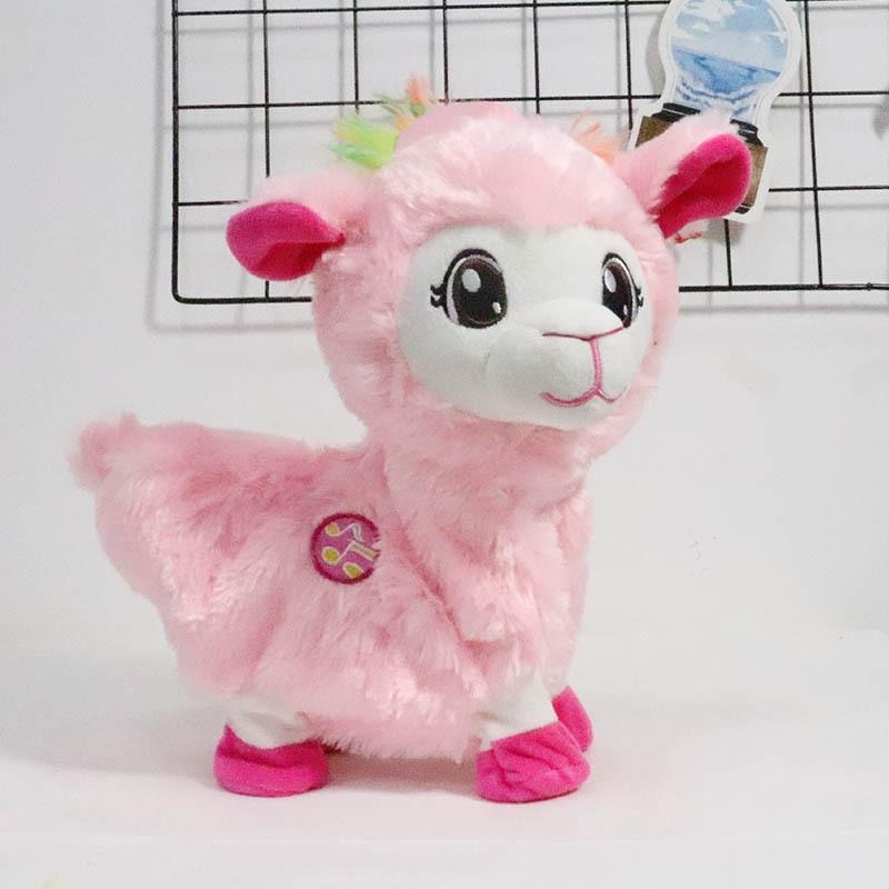 Robot Alpaca Electronic Sheep Plush Toys Walk Twist Ass Buttocks Toys Electric Dancing Pet Music Toys For Children Birthday Gift