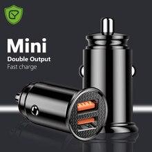 Chargeur double USB 4,8a pour voiture, 2 ports, allume-cigare, adaptateur d'alimentation pour iPhone 12 Pro Max