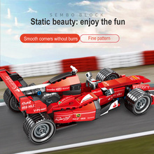 Diy F1 Formula Racing Car Building Blocks Super Sports Racer Electric Vehicle Bricks By Technic Toys Gifts For Kids Gift aiboully 3335 technic f1 racer building bricks blocks toys for children game car formula 1 compatible with aiboully 8674