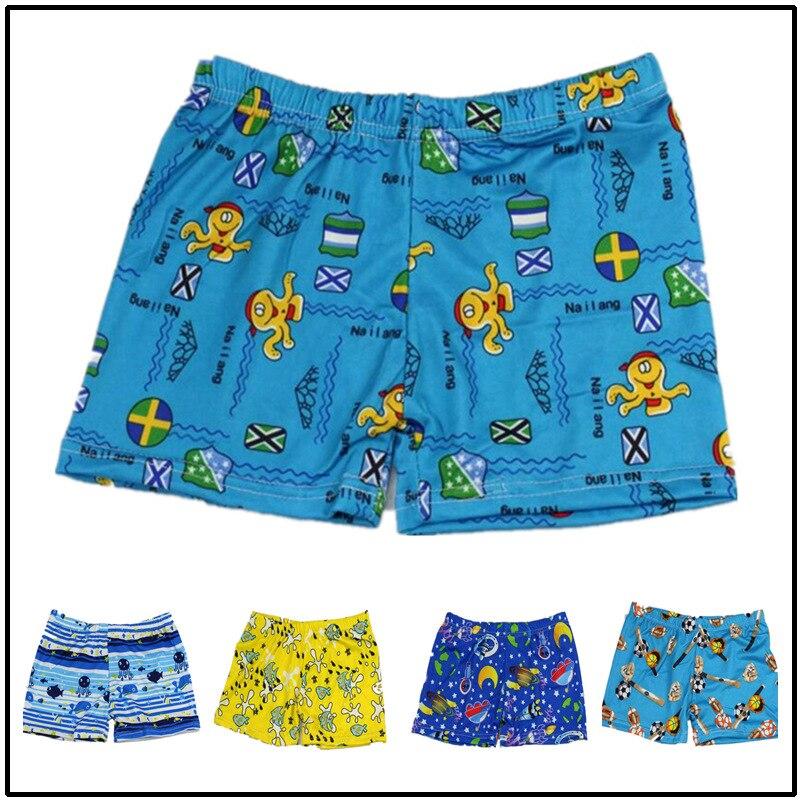 CHILDREN'S Swimming Trunks 2019 Fashion Cartoon Pattern AussieBum Kids Hot Springs Bathing Suit BOY'S Swimming Trunks