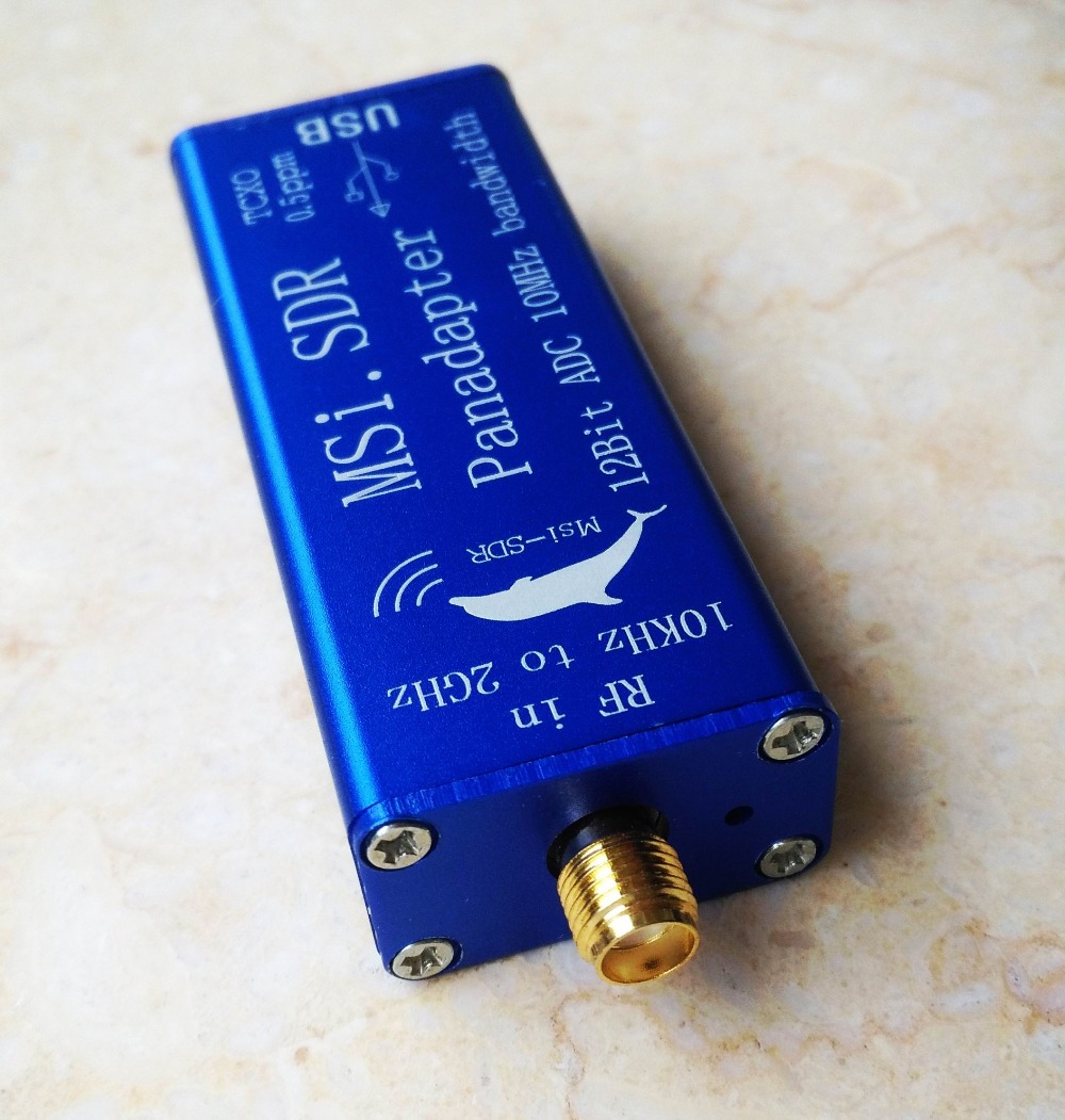 MSI.SDR 10kHz To 2GHz Panadapter SDR Receiver Compatible SDRPlay RSP1  TCXO 0.5ppm