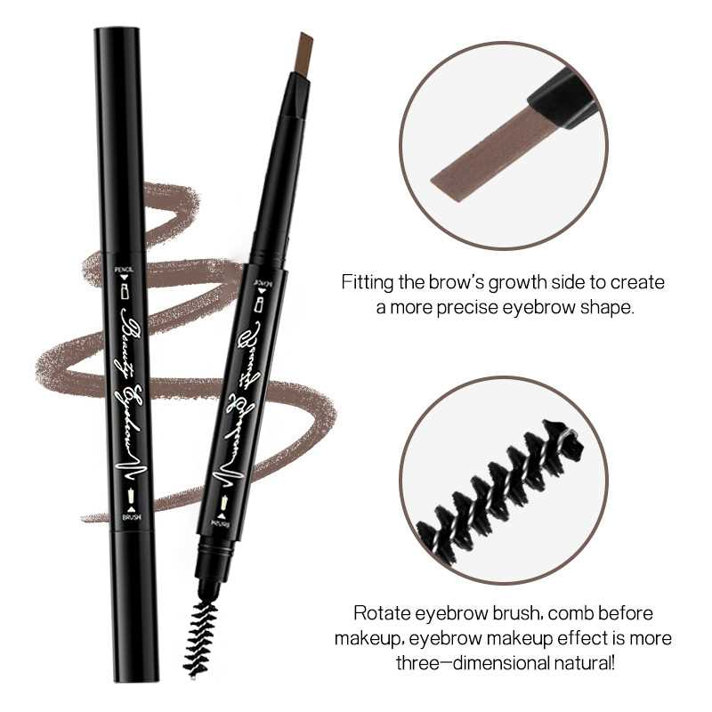 Image 3 - Joomer Waterproof Natural Eyebrow Paint Pen Eye Brow Tint Tattoo Pen Makeup Eyebrow Pencil With Brush Make Up Cosmetics-in Eyebrow Enhancers from Beauty & Health