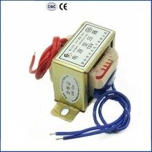 Трансформатор питания EI48 * 24 10 Вт/ва 220 В/380 В до 6 В/9 В/12 В/15 В/18 В/24 В/одиночный/Двойной источник питания переменного тока