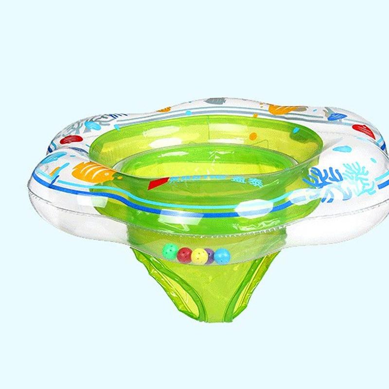 Inflável piscina do bebê flutuador anel de