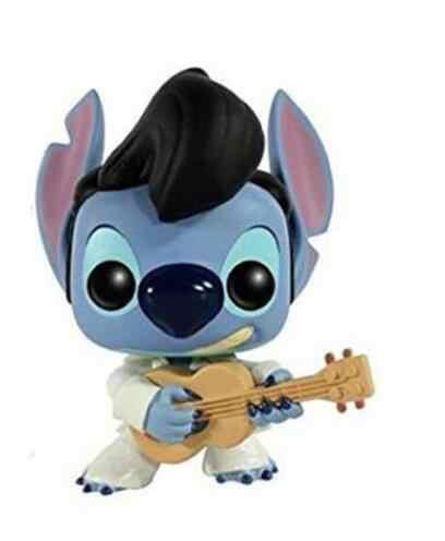 FUNKO POP Disney Hot Topic Elvis Stitch Vinyl Action Figures Collection Model Toys for Children Birthday Gift
