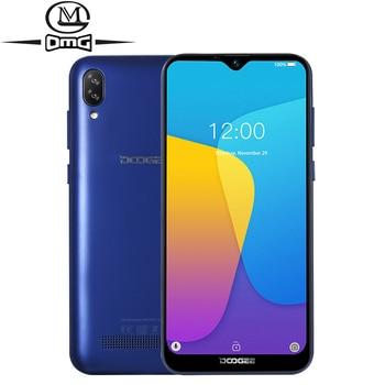 Перейти на Алиэкспресс и купить Смартфон DOOGEE X90, 6,1-дюймовый LTPS экран 19:9 Waterdrop, четырёхъядерный, 16 Гб ПЗУ, 3400 мАч, две SIM-карты, 8 Мп + 5 МП, WCDMA, Android Go, мобильный телефон