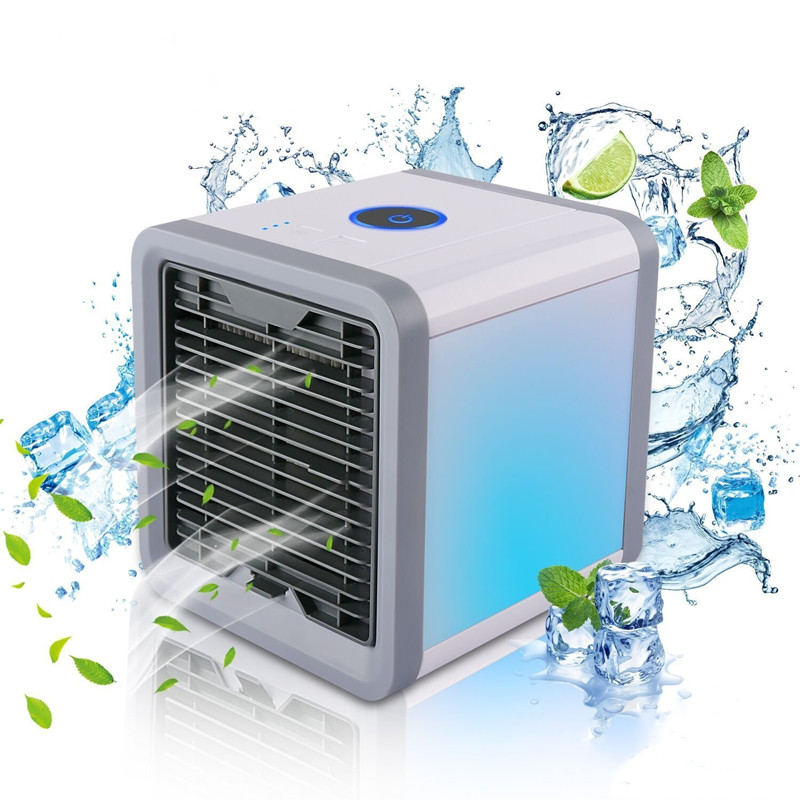 <font><b>Portable</b></font> <font><b>Mini</b></font> <font><b>Air</b></font> Conditioner Fan Personal Space <font><b>Cooler</b></font> The Quick Easy Way to Cool Any Space Home Office Desk <font><b>Air</b></font> Conditioning image
