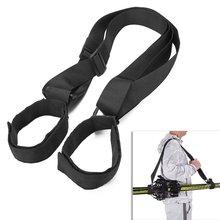 Lash-Handle Straps Porter Skiing-Pole Shoulder for Ski-Equipment Hook-Loop Hand-Carrier