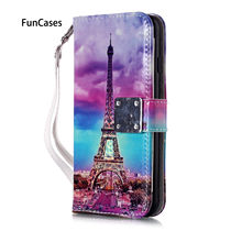 Shining PU Leather Flip Wallet Case For estojo iPhone 6 Plus sFor Apple iPhone telefon 6S Plus Hoesje Transparent Cases Coque(China)