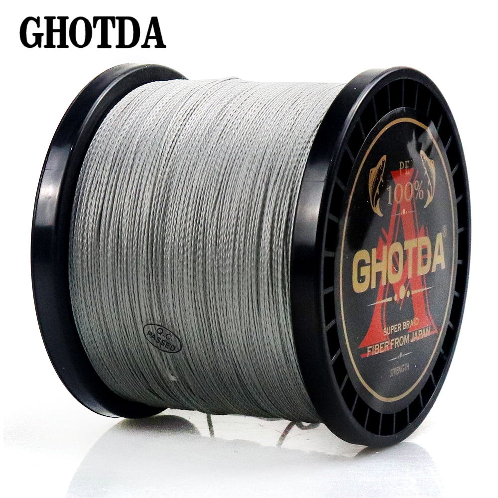 Fishing-Line Braid Multifilament-Thread Carp Japan Strong Super 300M 4-Strand 1000m Pe