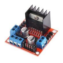 цена на Good Quality Dual H Bridge Stepper Motor Drive Controller Board Module For Arduino L298N Motor Driver Board Module