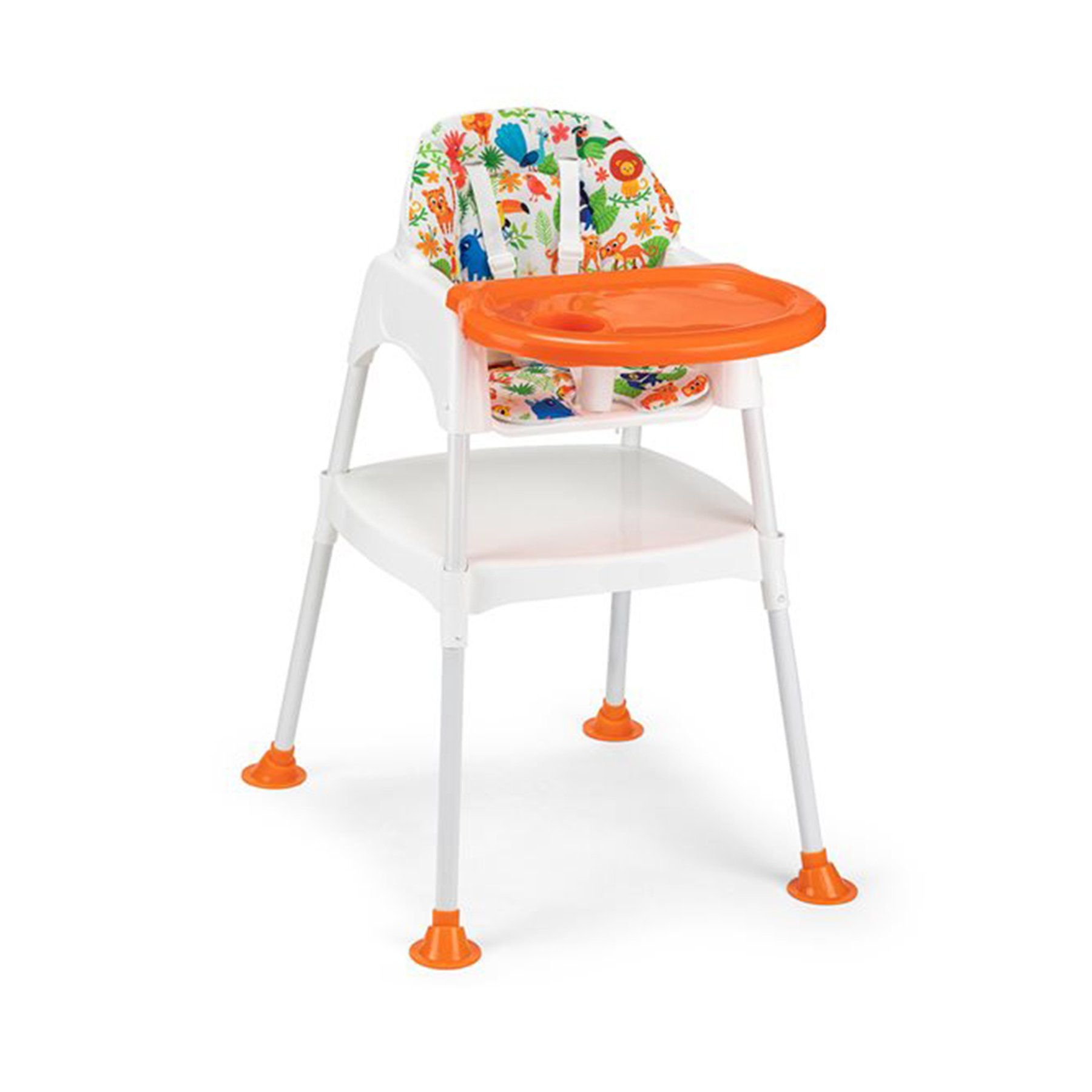 Orange High Chair