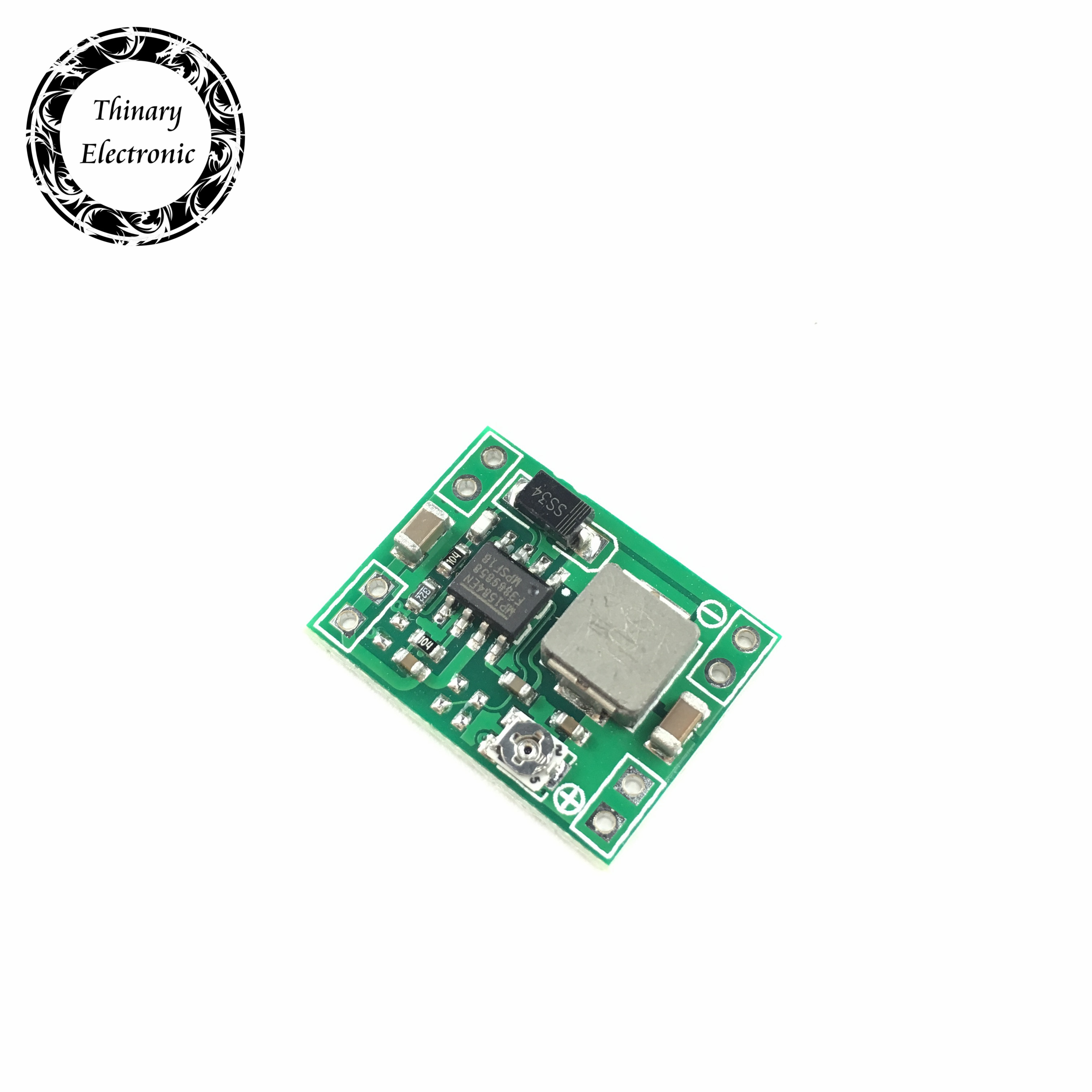 Thinary 100PCS Ultra small power supply module DC DC BUCK 3A MP1584 MP1584EN adjustable buck module regulator ultra LM2596S-in Integrated Circuits from Electronic Components & Supplies