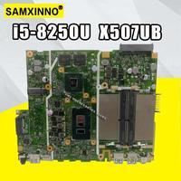 X507ub placa-mãe i5-8250U para asus x507u x507ub x507ubr computador portátil placa-mãe x507ub (troca)!