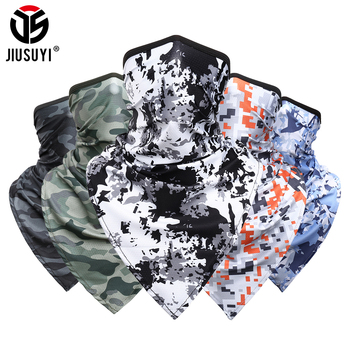 Camouflage Paisley Neck Gaiter Head Scarves Ear Cover Face Shield Tube Scarf Bandana Breathable Face Guard Headband Men Women new design triangle headband neck head scarves ear cover face shield scarf breathable bandana half face guard men women