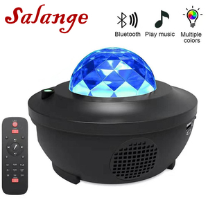 Galaxy Projector Blueteeth Speaker Colorful Starry Sky USB Voice Control Music Player LED Night Light Romantic Projection Lamp(China)