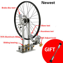 Bicycle-Wheel Truing-Stand Wheel-Repair-Tools Dial-Indicator-Gauge-Set Road-Bike Adjustment