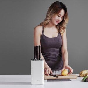 Image 2 - Xiaomi Huohou uchwyt na nóż kuchenny wielofunkcyjny stojak do przechowywania uchwyt na narzędzia nóż blok stojak akcesoria kuchenne oryginalne