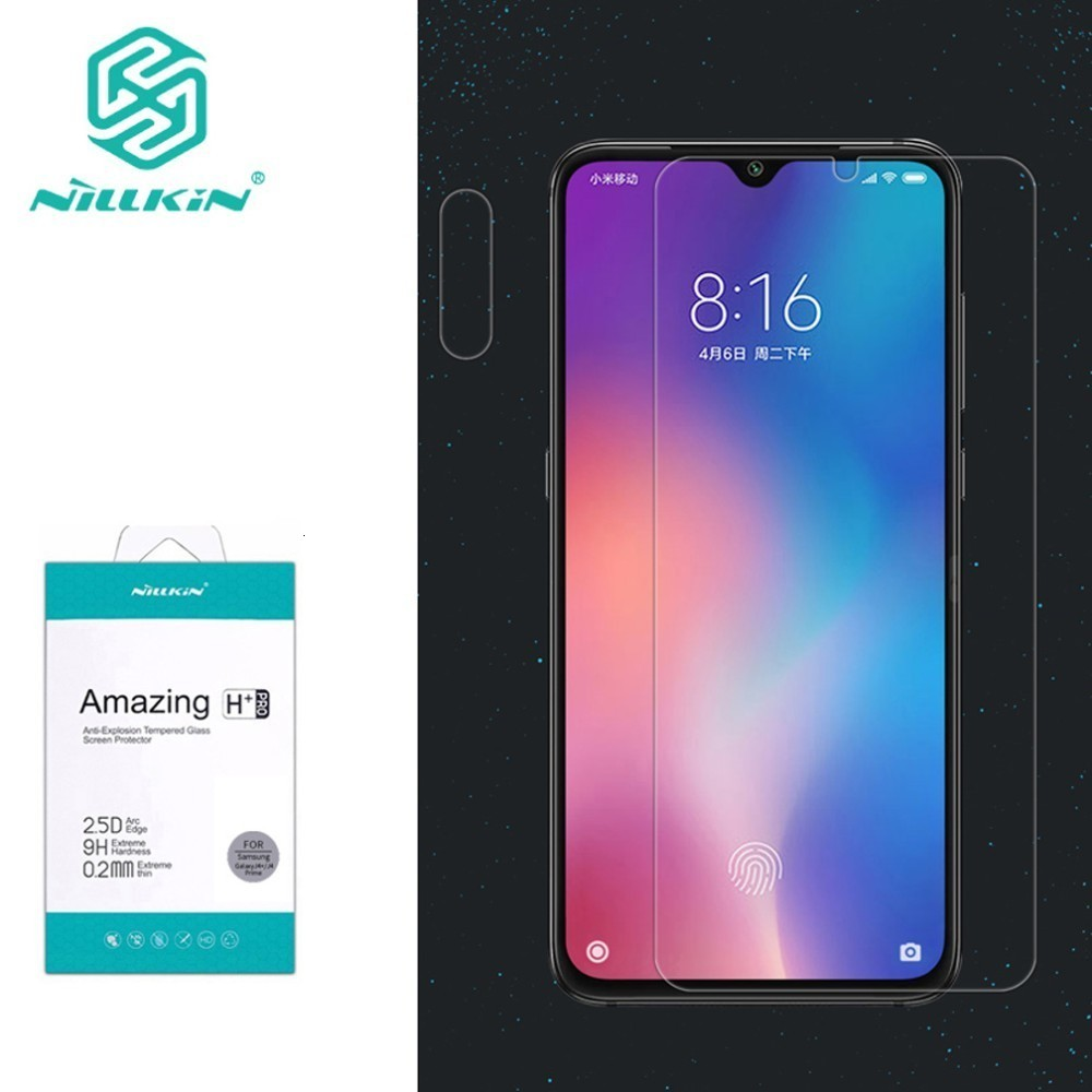 For Xiaomi Mi 9 Tempered Glass for Xiaomi Mi9 SE Glass Nillkin Amazing H/H+Pro Front Screen Protector For Xiaomi Mi 9 Explore-in Phone Screen Protectors from Cellphones & Telecommunications on