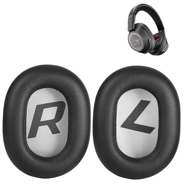 Earpads For Plantronics Backbeat Pro 2 Wireless Noise Cancelling Headphone Replacement Ear Pads Soft Leather Memory Foam Brown