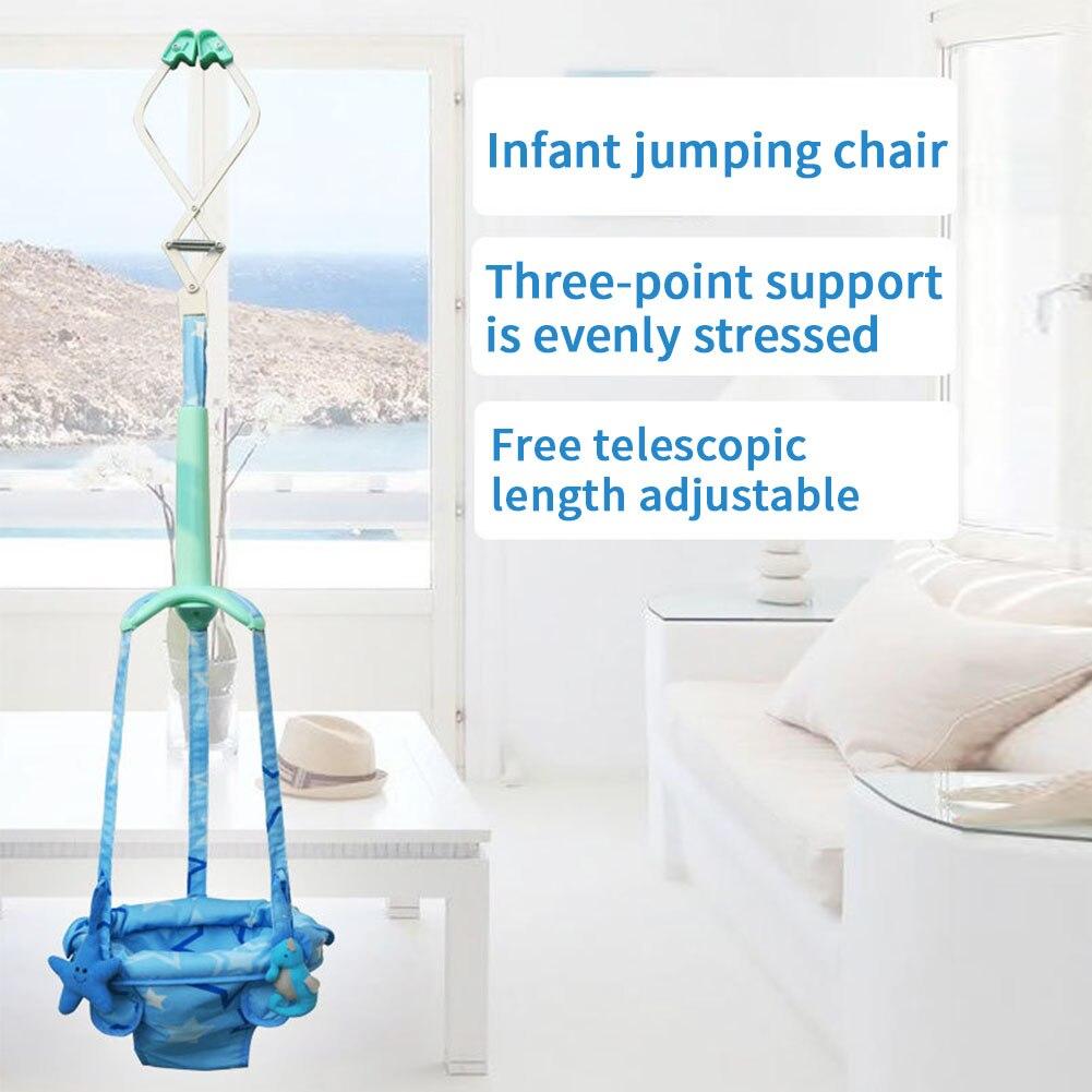 Exercise Assistant Toys Walker Infant Bouncing Swing Adjustable Safety Hanging Seat Indoor Activity Baby Doorway Jumper Toddler