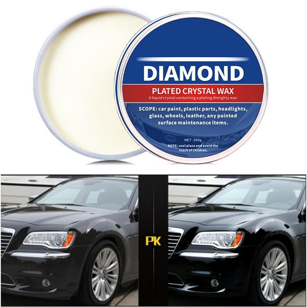 Car Repair Wax Premium Carnauba Solid Wax Crystal Hard Wax Paint Care Scratch Removal Oxidation Polishing Repair Maintenance|Hard Wax| |  - title=