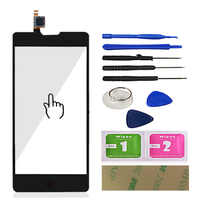 Mobile Touch Screen Glass For ZTE Nubia Z5S Mini NX403A Digitizer Touch Panel Glass Lens Sensor Front Replace Tools Adhesive
