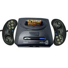Console de jeu vidéo rétro Mini TV, contrôleur pour Sega MegaDrive MD2 16 Bit avec sortie AV, manettes de jeu avec Double câble, nouveauté 2019
