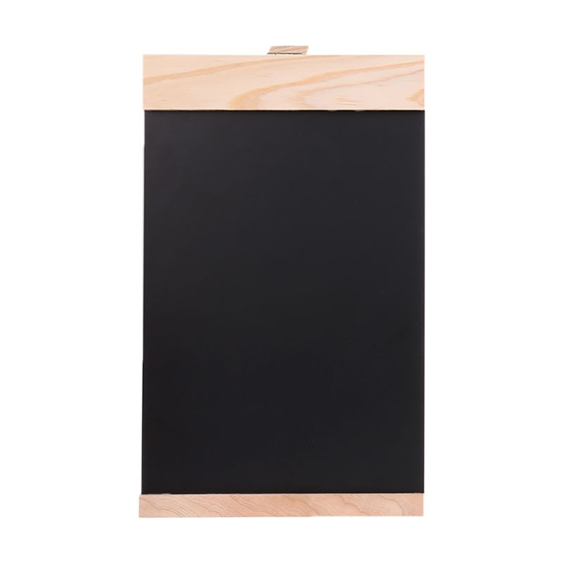 Desktop Message Blackboard Easel Chalkboard Kids Writing Advertising Board Bar D08B