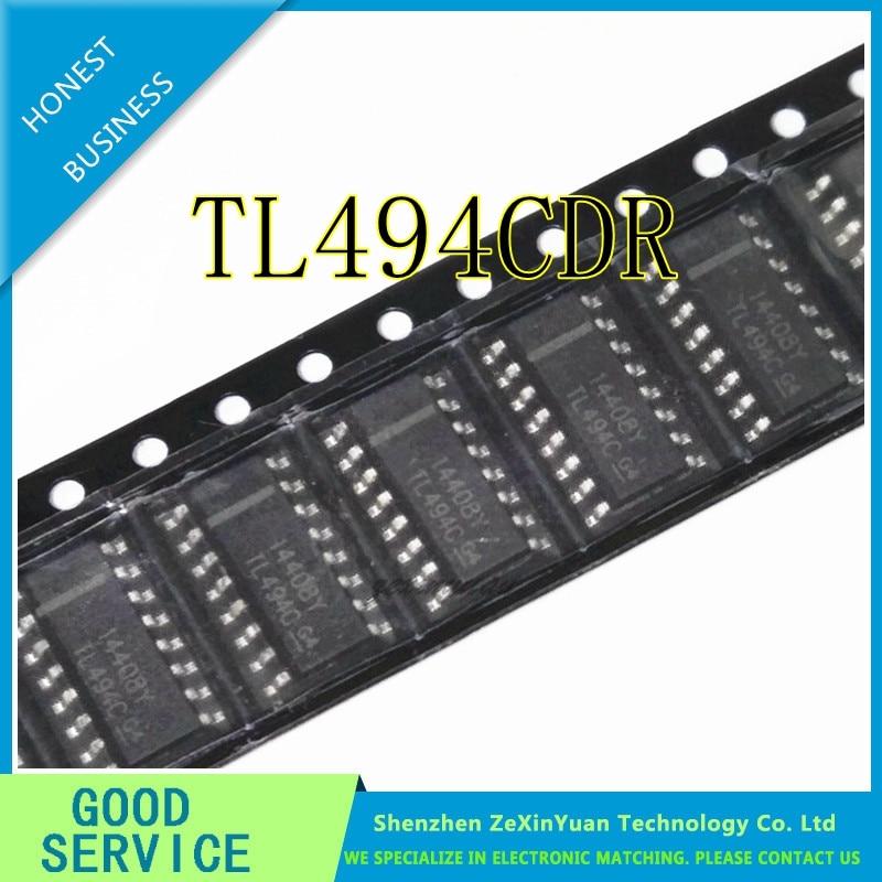 10PCS/LOT TL494CDR TL494C SOP TL494 SOP16 SMD NEW WITH TRACKING NUMBER