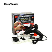 Car Dent Remover Puller Auto Body Removal Tools Strong Suction Cup Glue Tabs Hand Repair Kit