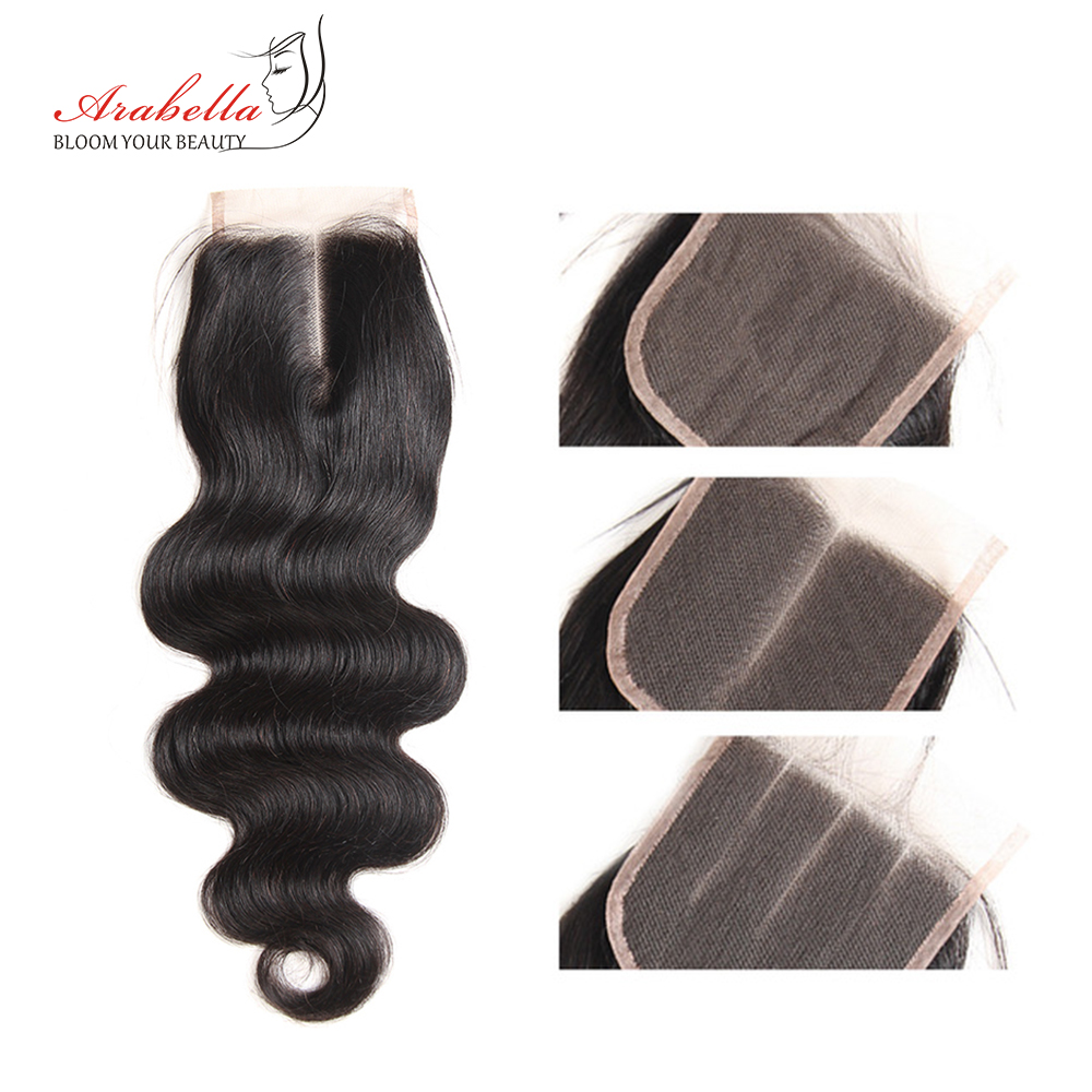 Body Wave Closure  Lace Closure With Baby Hair 4x4 Lace Closure  Arabella Transparent Lace Closure 2