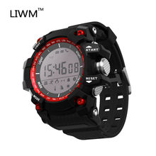 Mannen Sport Bluetooth Smart Horloge IP67 Waterdichte Smartwatch Stappenteller Horloges Zwemmen Militaire Horloge Voor Ios Android Telefoon(China)