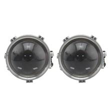 RHD LHD 2.5 inch BI LED projector lens for universal car headlight retrofit LED Headllamp High Low Beam led lens Car accessories цена
