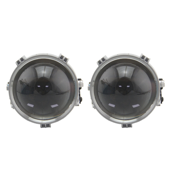 RHD LHD 2.5 inch BI LED projector lens for universal car headlight retrofit LED Headllamp High Low Beam led lens Car accessories union car styling for sonata headlights 2015 2017 sonata 9 led headlight drl bi xenon lens high low beam parking fog lamp