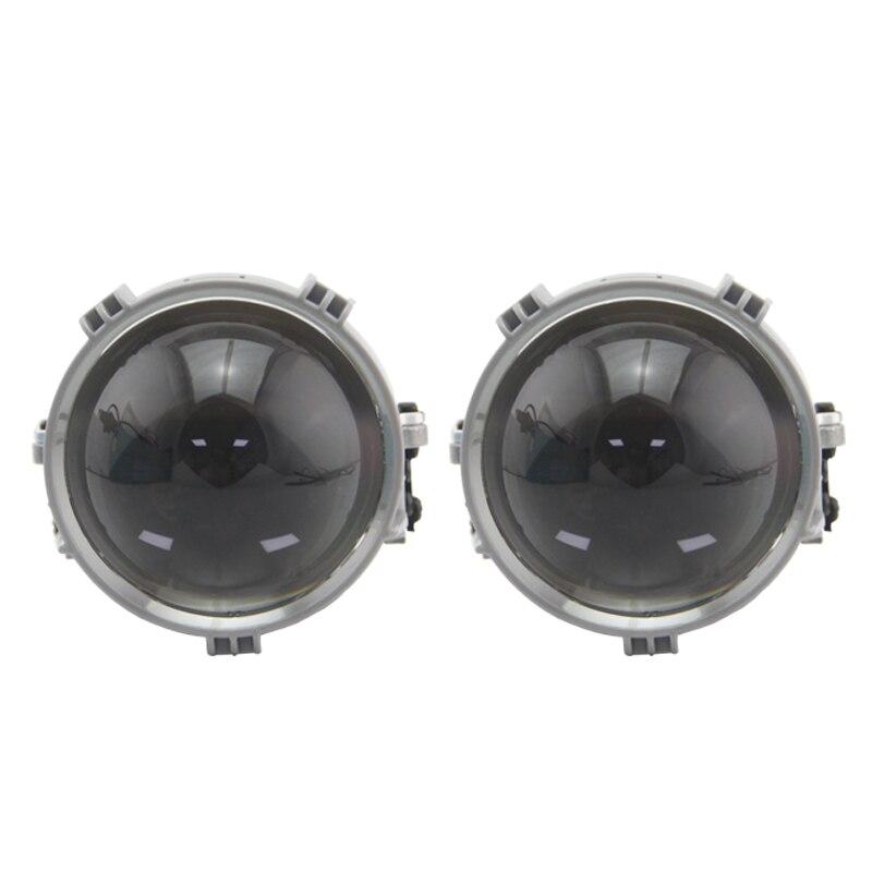 RHD LHD 2.5 pouces lentille BI projecteur LED pour phare de voiture universel LED adaptée phare feux de croisement LED accessoires de voiture