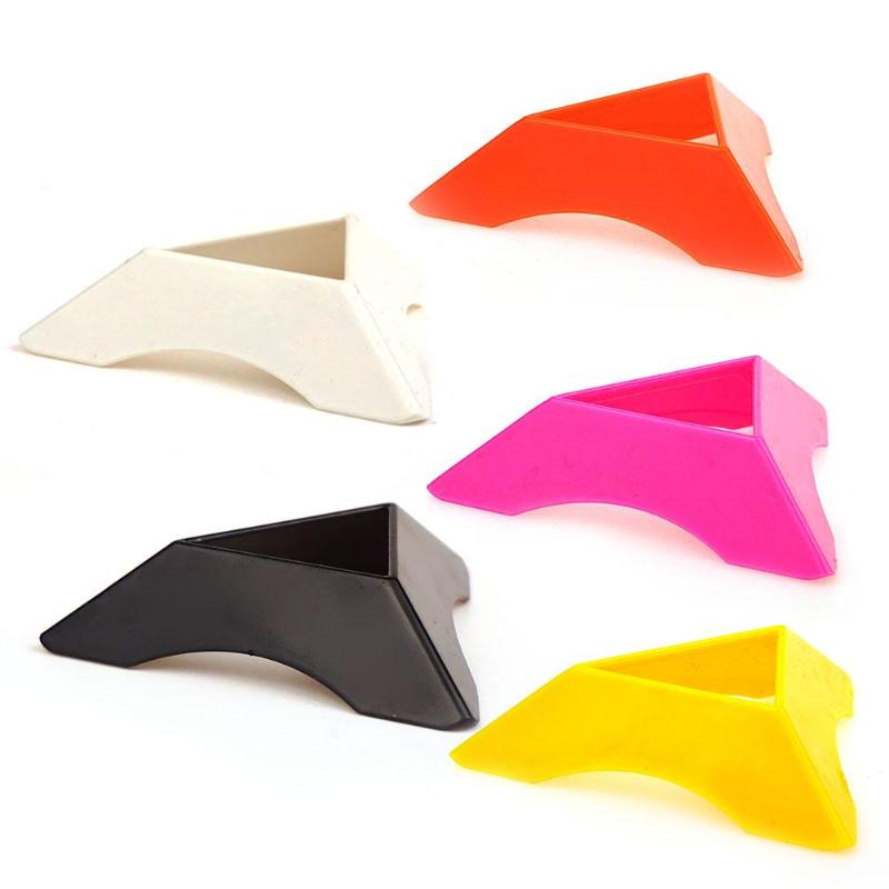 Colorful Plastic ABS Magic Cubes Base Triangle Speed Cube Holder Stand Baby Kids Toys Gift Accessory For 2x2 3x3 4x4