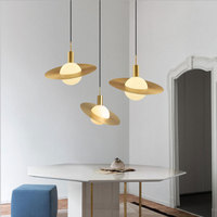 Nordic Modern LED Pendant Light for Living Room G20 LED Ball Bulb Hanging Lamp for Bedroom Restaurant Home Lighting Dropshipping
