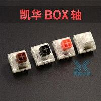 Kailh interruptor de caixa teclado mecânico diy rgb smd preto vermelho marrom branco interruptores dustproof ip56 compatível à prova dmx água cereja mx