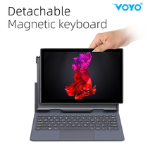 VOYO 10.1 Inch Android Tablet pc 4G LTE Phone Call 4GB RAM 64GB With keyboard Duad Core Processor SIM Wi-Fi i8 2in1Tablet PC 8.1