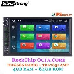 SilverStrong 2DIN 4G Car DVD Radio Universal IPS Multimedia Car Stereo Gps Android10 2din Navigation option carplay